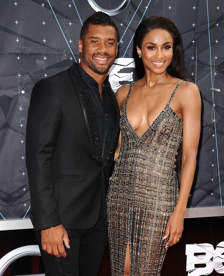 Ciara and Russell Wilson at BET Awards | Pictures | POPSUGAR Celebrity