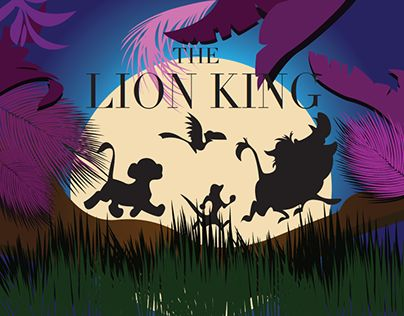 """Check out new work on my @Behance portfolio: """"Lion King Graphic Design"""" http://be.net/gallery/53837729/Lion-King-Graphic-Design"""
