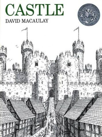 Castle by David Macaulay for the kids and Psalm 91:2