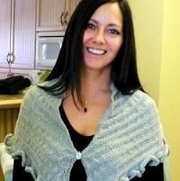 Miss Woodhouse Multiway Shawl/ Châle  - via @Craftsy