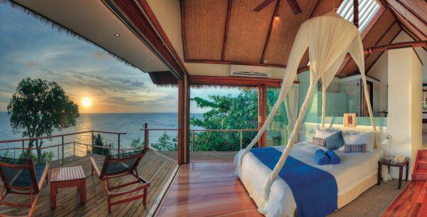 hotel iles fidji design lune de miel appartement luxe terrasse