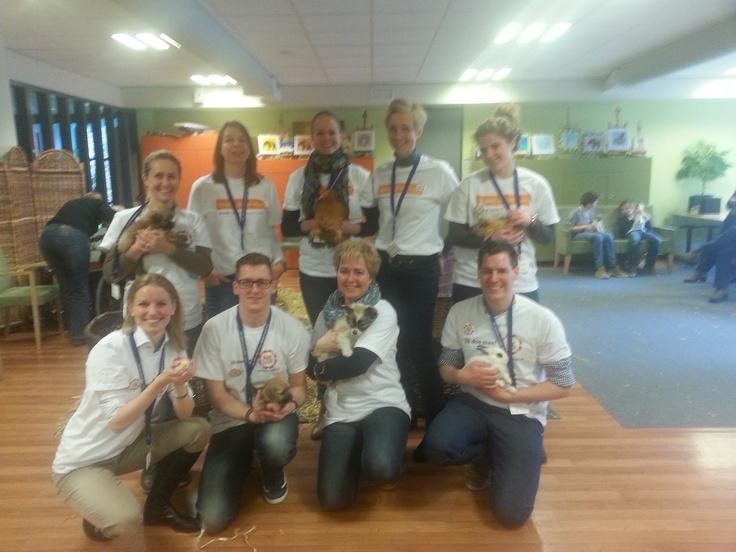 Team dierenvrienden #NLdoet #Vitalis