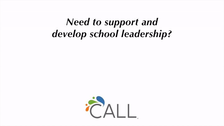 There are a number of ways the CALL Team can help support school leadership and school improvement planning. Let us know what you would like to do!