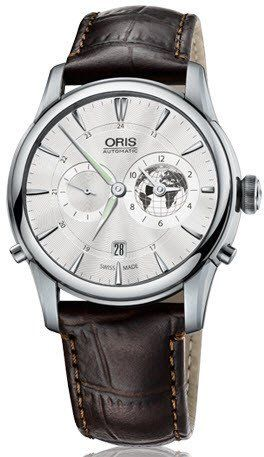 @oris  Watch Artelier Greenwich Mean Time Crocodile Limited Edition #bezel-fixed #bracelet-strap-crocodile #case-material-steel #case-width-42mm #date-yes #delivery-timescale-call-us #dial-colour-silver #gender-mens #gmt-yes #limited-edition-yes #luxury #movement-automatic #official-stockist-for-oris-watches #packaging-oris-watch-packaging #style-dress #subcat-artelier #subcat-limited-editions #subcat-oris-gmt #supplier-model-no-01-690-7690-4081-07-1-22-73fc #warranty-oris-official...