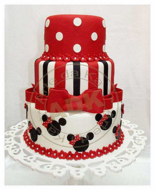 Mickey mouse #cake
