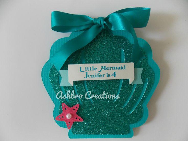 9 best Mermaid Invitation images on Pinterest Little mermaids
