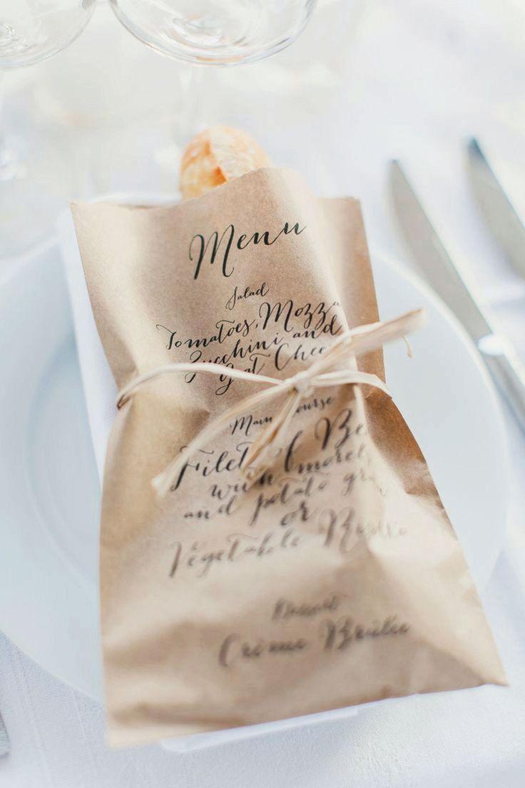 Interesting Wedding Menu Ideas (BridesMagazine.co.uk)