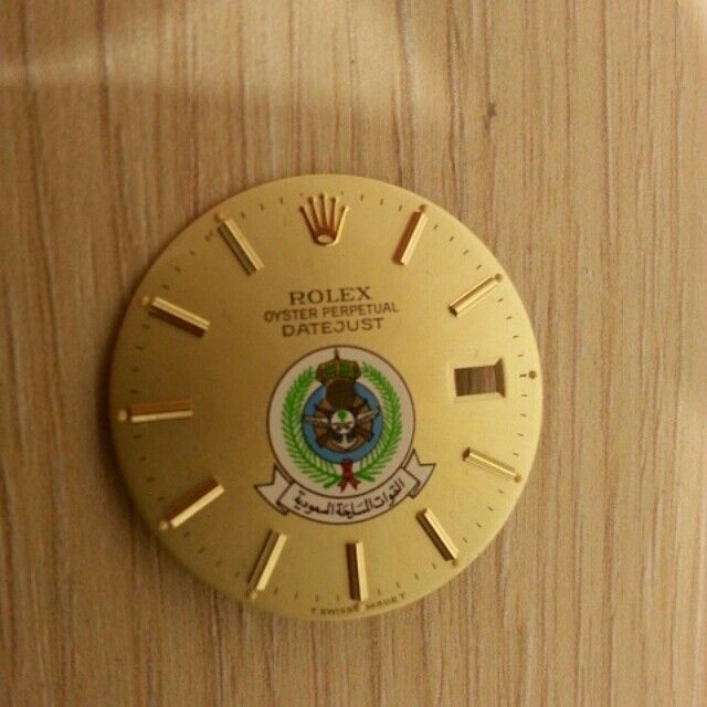 Rolex saudi army dial