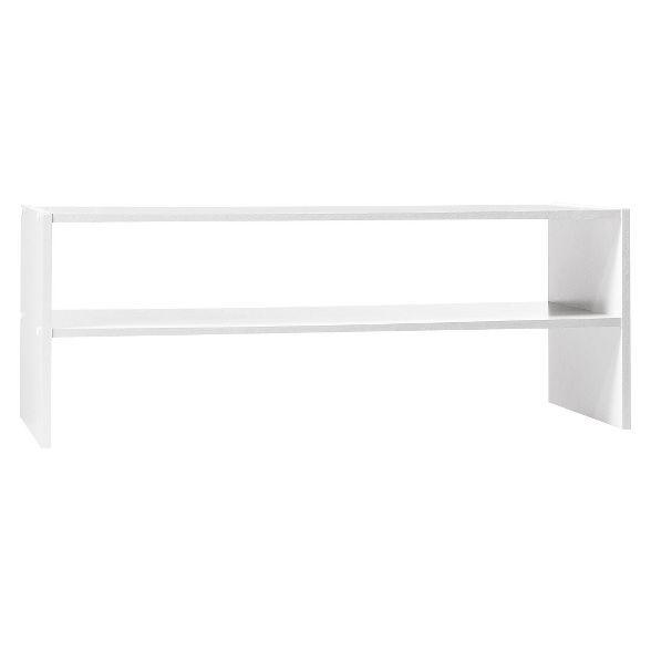 Room Essentials 31 Stackable Shelf Room Essentialstm In 2020 Stackable Shelves Room Essentials Shelves