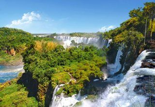 Puzzle CASTORLAND 1000 dílků - Vodopády Iguazu (Iguacu)