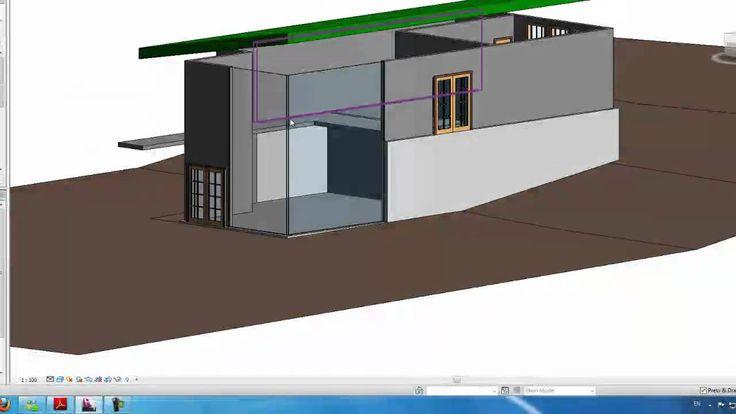 Autodesk Revit Tutorials: 10 Adding a Curtain wall