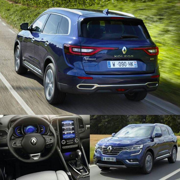 """Renault Koleos 2017 Atendendo a pedidos mais ângulos so Koleos. SUV francês é um modelo global com previsão de vendas inclusive para o Brasil! Estará no Salão de São Paulo.  Distância entre eixos de 2705 mm  para um comprimento total de 4673 e 600 litros no porta malas. Rodas 17 18 e até 19"""". Motores a gasolina  2.0 e 2.5 (145 ou 170 cv) e diesel (130 e 175cv). #CarroEsporteClube #renault #koleos #renaultkoleos #suv #offroad #4x4  #brasil #cargramm #carporn #carro #carros #cars…"""