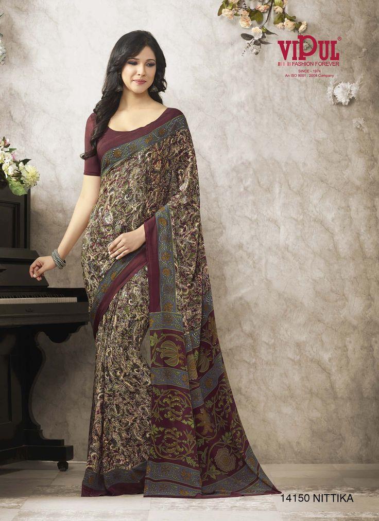 #VipulFashions #FashionForever #Fashion #MariGold #Catalog #saree #sari
