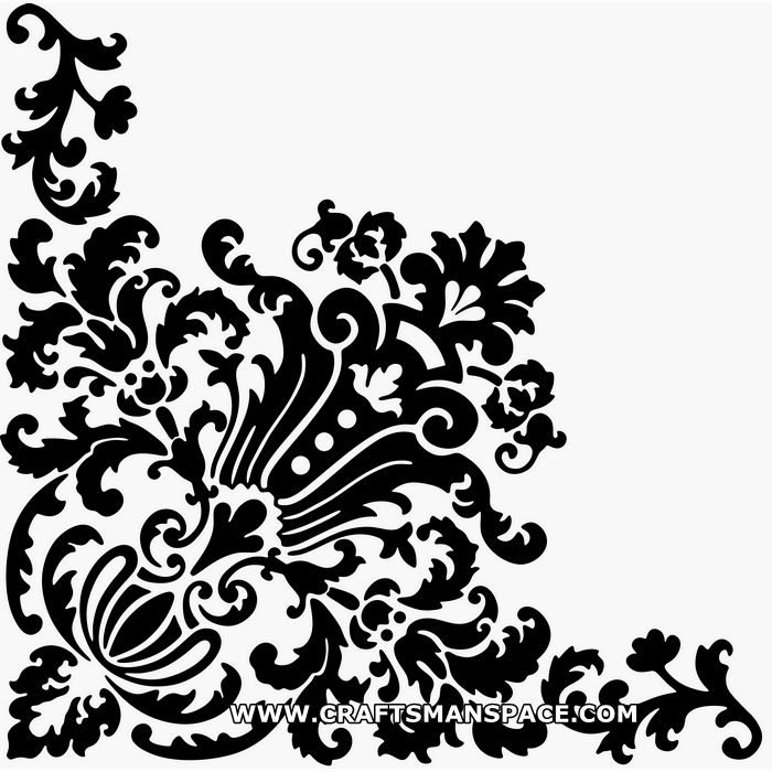 square scroll saw patterns   simple Corner design ornament vector which is a great freebie worth ...craftsmanspace.com