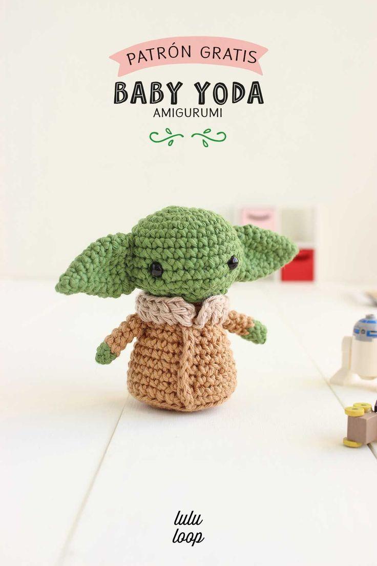 Amigurumi Toys, Amigurumi Patterns, Baby Patterns, Free Pattern, Geek Stuff, Crochet Hats, Starwars, Crafty, Dolls