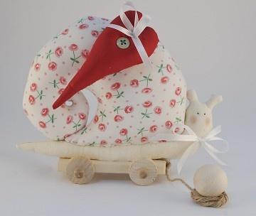 very romantic snail