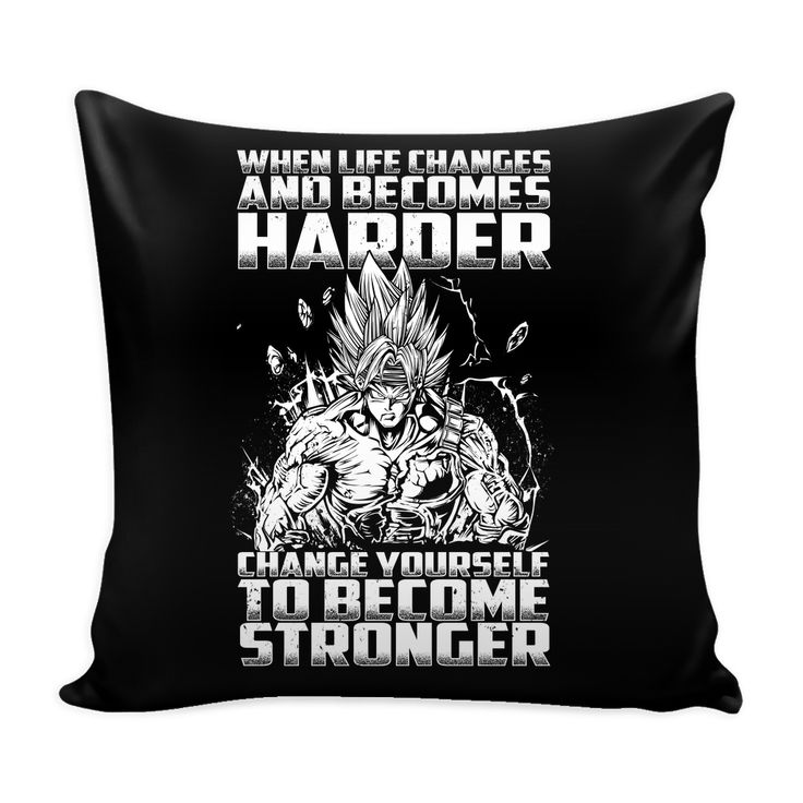 "Super Saiyan Bardock become stronger Pillow Cover 16"" - TL00475PL"