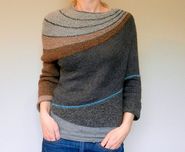 Ravelry: tma's m e s a From Stephen West's Enchanted Mesa pattern -- I like this version much better!