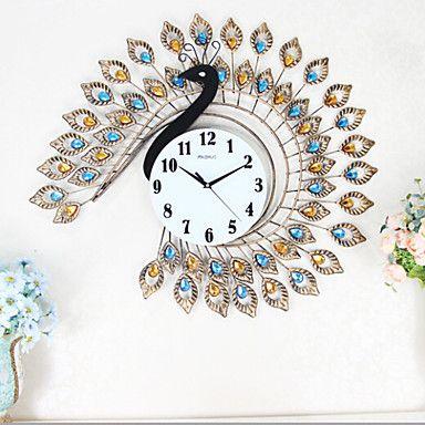Peacock Wall Clock | Wall Clocks Blog