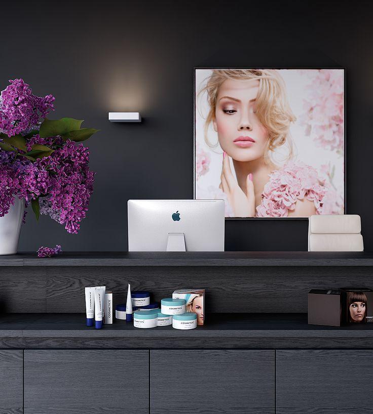 Project Beauty salon on Behance