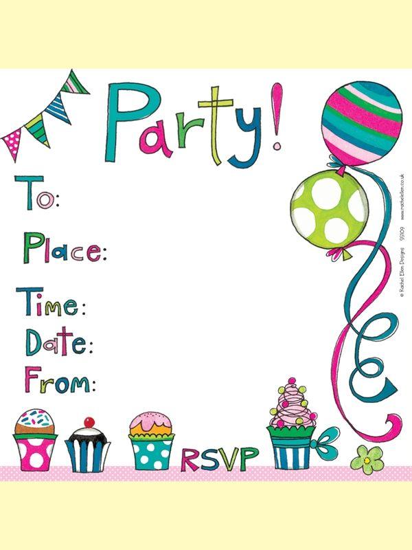 Birthday Invitations John Lewis