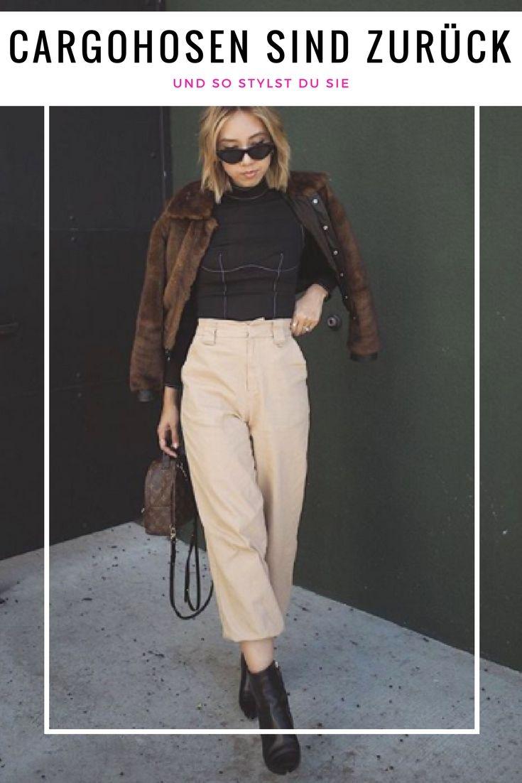 erstklassiges echtes Sonderangebot billigsten Verkauf Fashion-Trend 2018: Die Cargohose ist zurück und so stylst ...