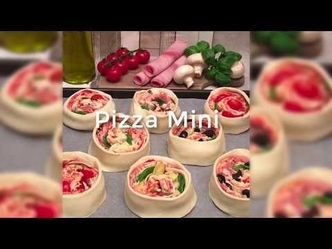 Roulé apéritif façon pizza :) - YouTube