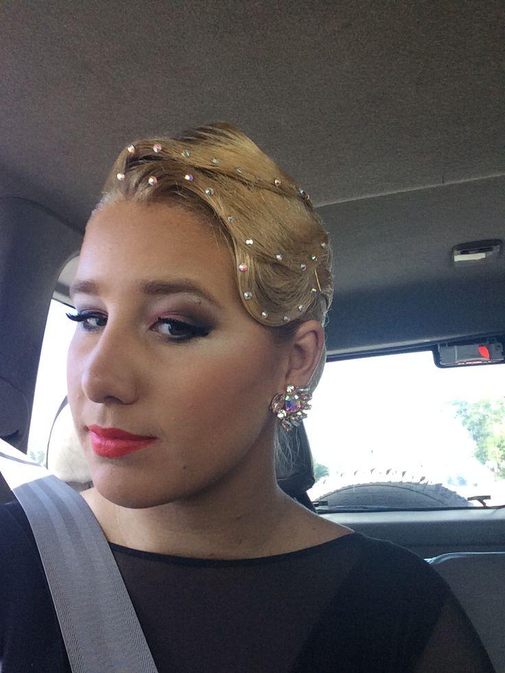 Ballroom Dance Hair Ballroom Dance Makeup Beautiful Makeup