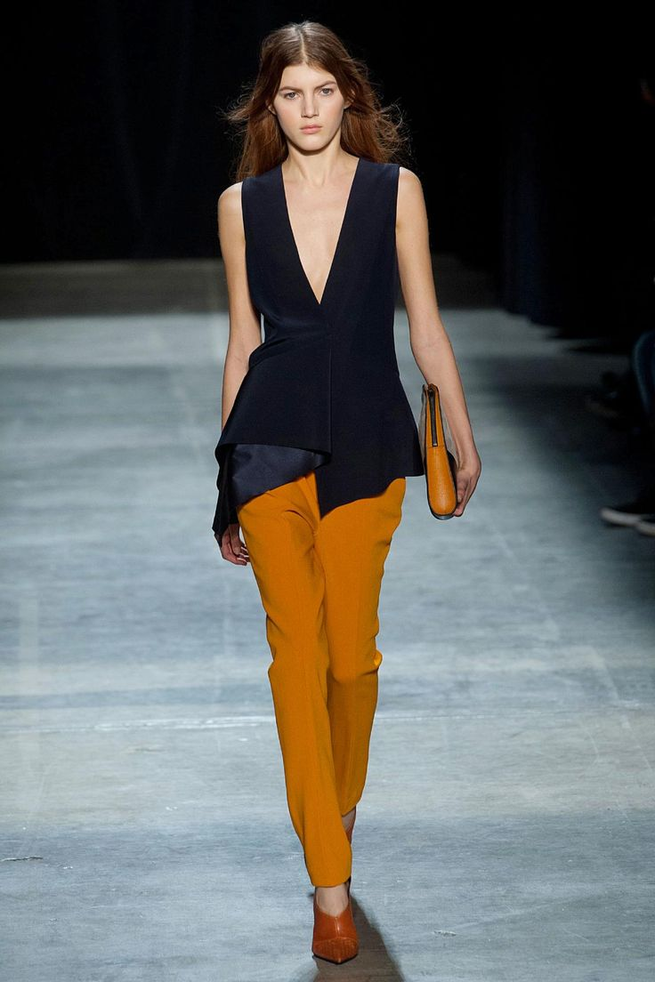 2014 Urban Fashion Trends For Women - Narciso rodriguez fall 2013 rtw fashion show