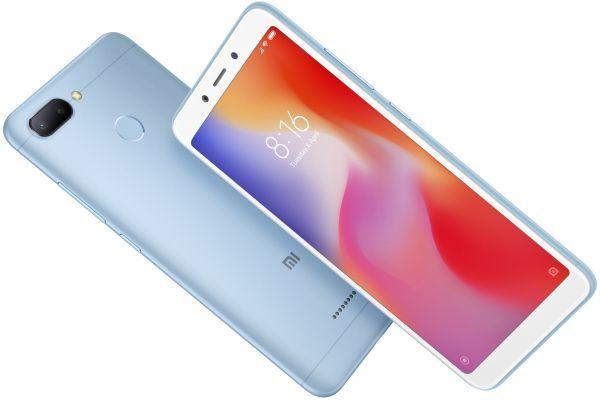 Xiaomi Redmi 6 Dual Sim 64gb 4gb Ram 4g Lte Blue