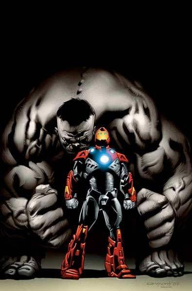 Homem de ferro e Hulk