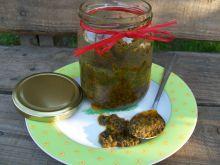 Pesto z rukoli i suszonych pomidorów