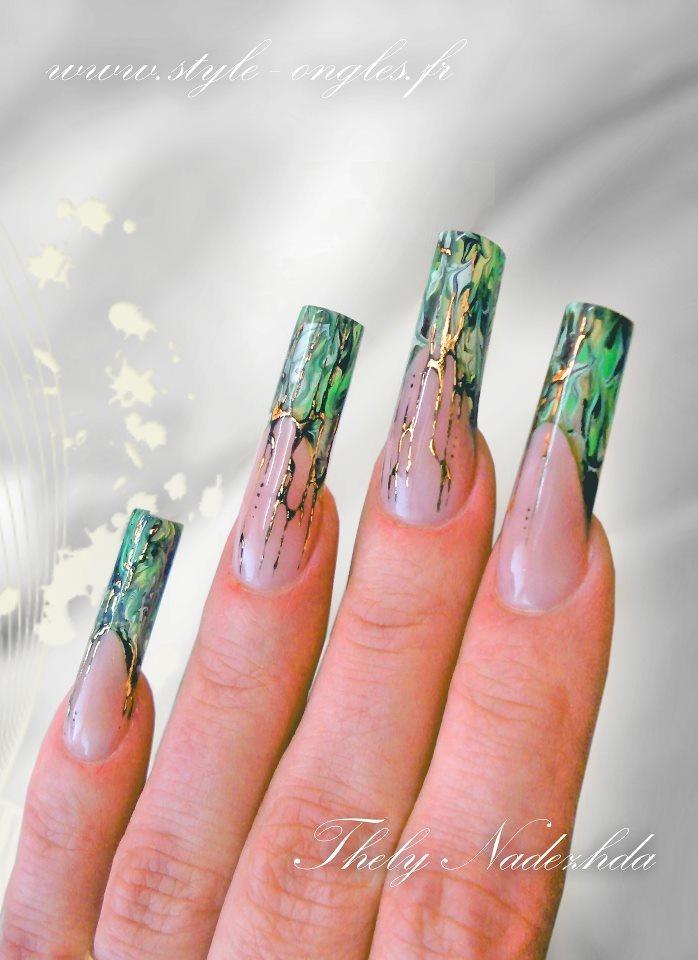 44 best Nail Art Transfer Foils & Nail Foiling images on Pinterest ...