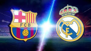 picture of barcelona symbol next to real madrid symbol - Google Search