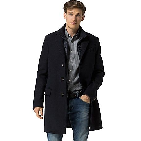 Image for LAYERED TOP COAT from Tommy Hilfiger USA