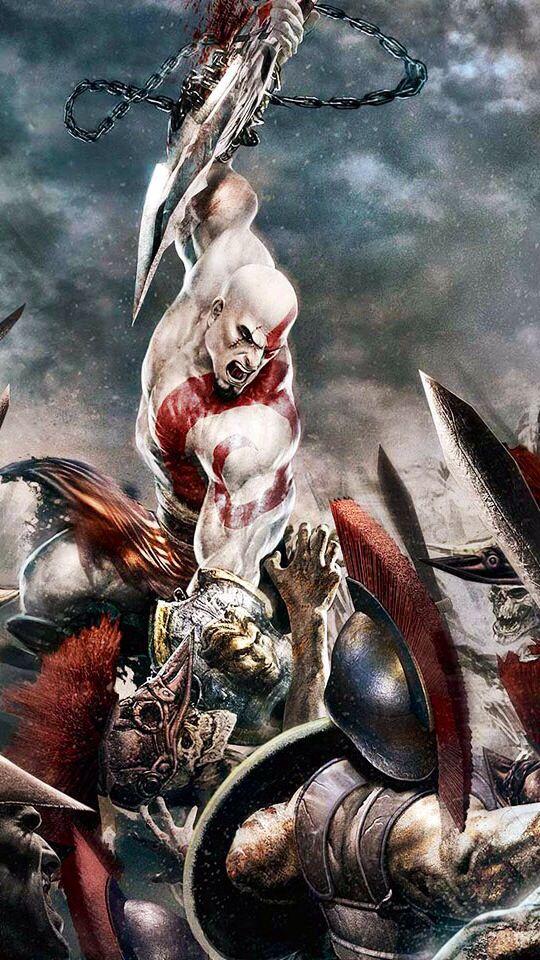Pretty coolish Kratos art -Will