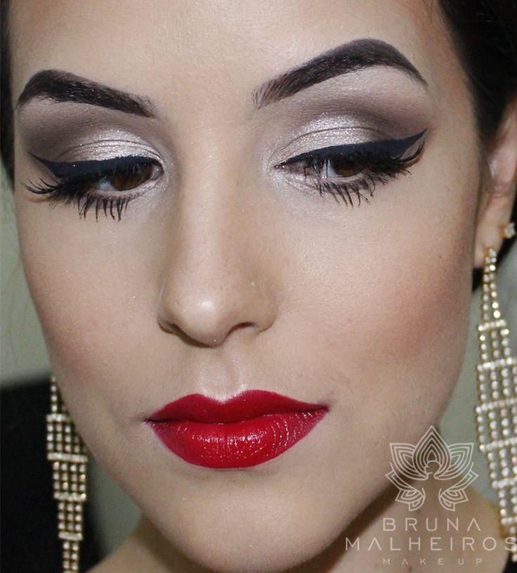 Maquiagem Glamour ~ Bruna Malheiros Makeup