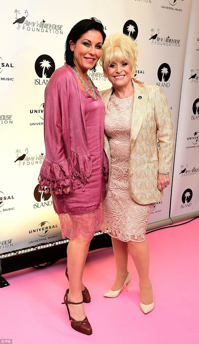 Reunited: Jessie Wallace joined forces with her former EastEnders co-star Barbara Windsor ...