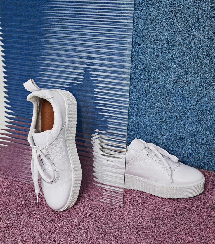 Fresh kicks. Samsøe & Samsøe Val sneakers.