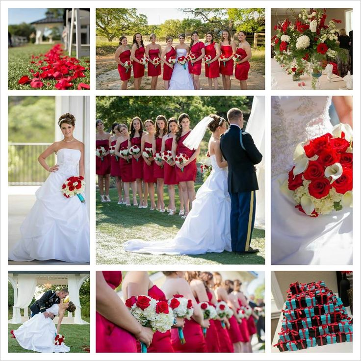 Red and Aqua Wedding | Red and Aqua Wedding colors ...