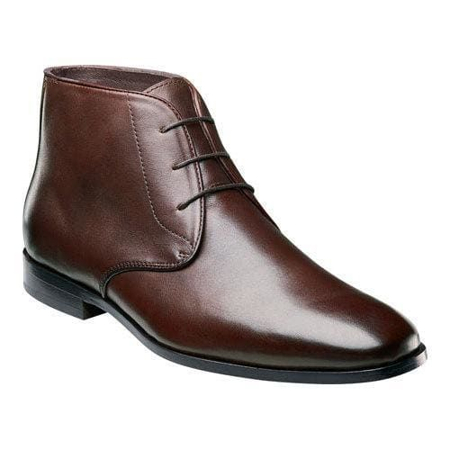 Men's Florsheim Jet Chukka Brown Smooth Leather   Shoes   Pinterest   Smooth  leather