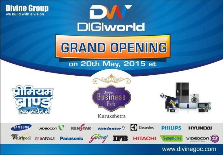 #DIGIworld at #DivineBusinessPark, #Kurukshetra is a world renowned house for all products. http://goo.gl/lHgE59