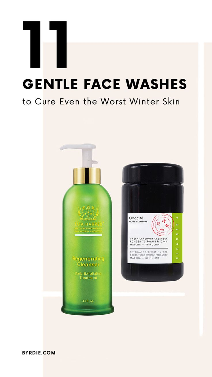 The best face washes for winter