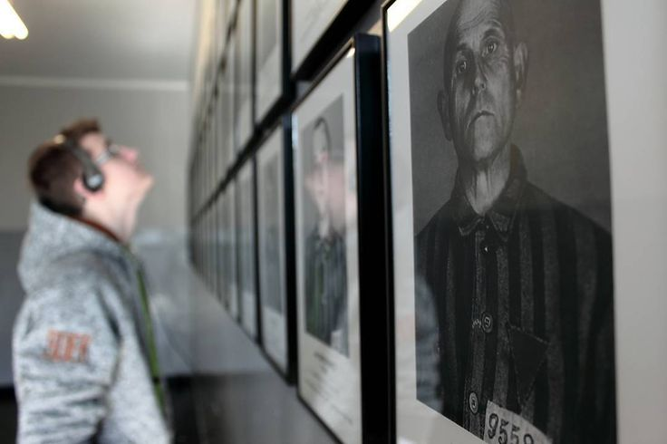 Auschwitz I. Block 6. Face to face. --- Photo by @nepy_photography ---