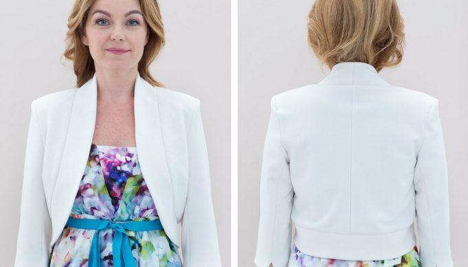 Zo kan het ook: strapless jurk - Knipmode