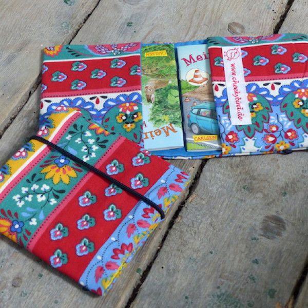 Kleine Tasche für 2 Pixibüchlein - Folklore-Design