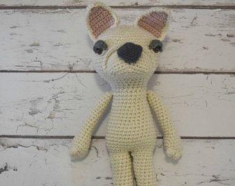 French Bulldog, Crochet French Bulldog, Bulldog, Crochet Bulldog, Crochet Dog, French Bulldog Stuffed Toy, French Bulldog Plushie,