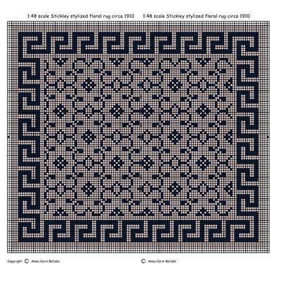 17 mejores im genes sobre alfombras miniatura en punto de - Casa de alfombras ...