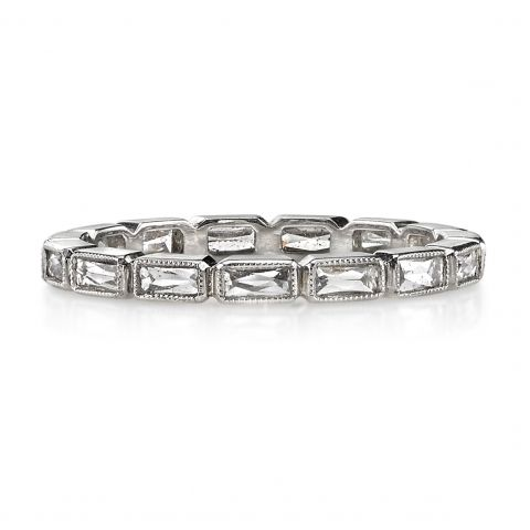 platinum bands carat jewelry baguette bridge in ring round ben eternity diamond band