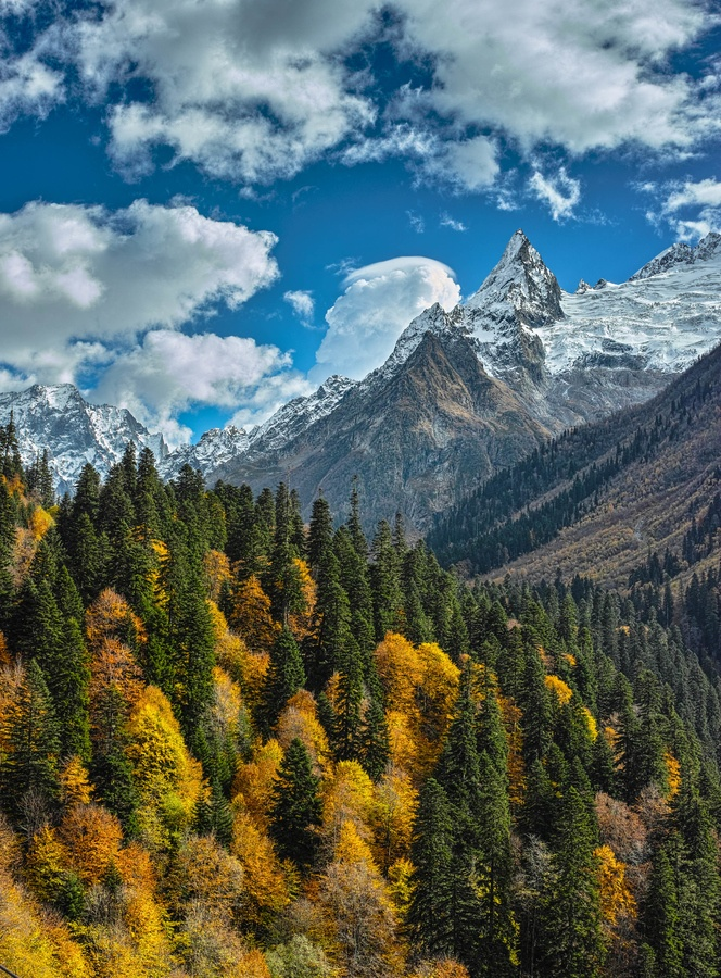 Dombay (Northern Caucasus)